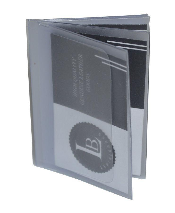 6 Page Bifold wallet insert for cards