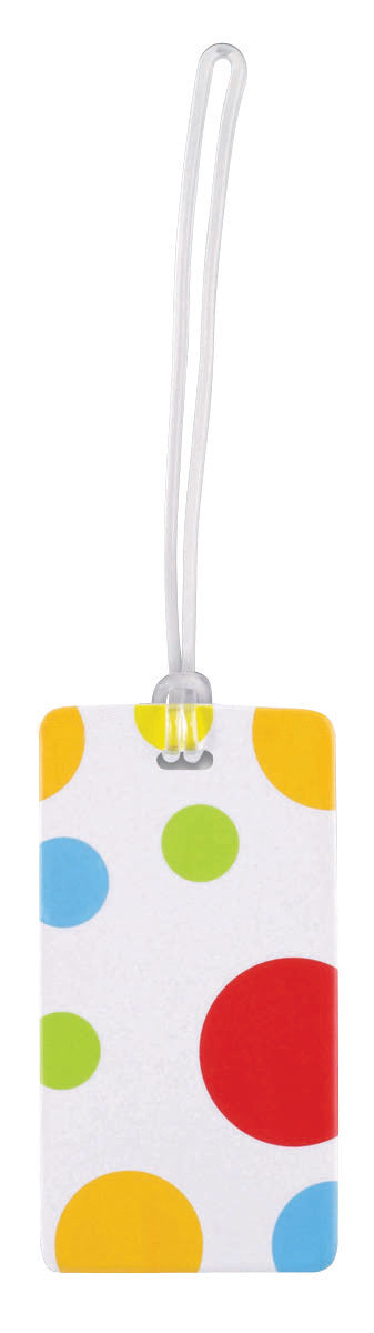 Lewis N Clark Luggage Tag Polka Dot