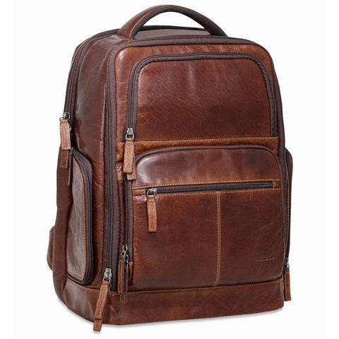 Jack Georges Voyager Tech Backpack Brown