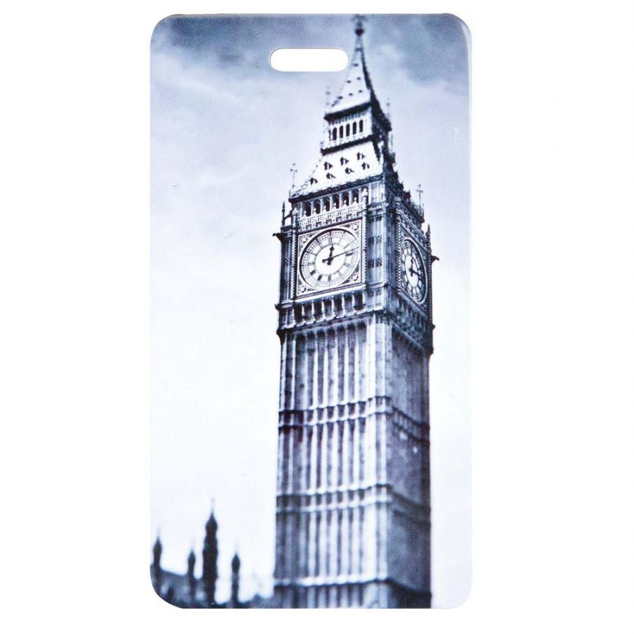 Smooth Trip Attractions Luggage Tag London's Big Ben