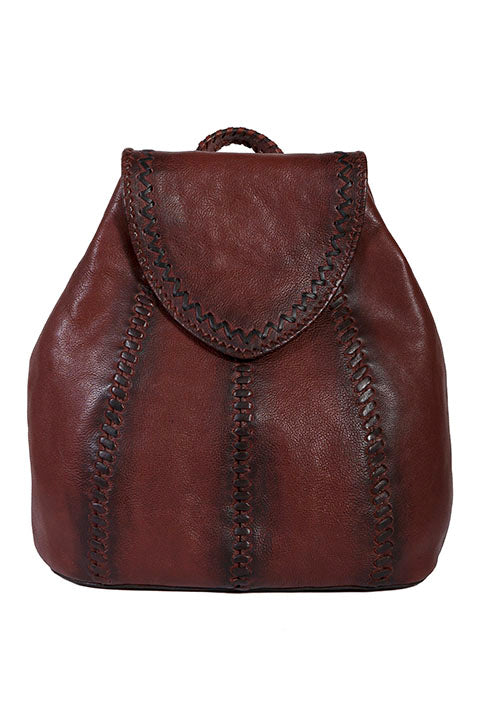 Scully Leather Kalahari Ladies Backpack Brown