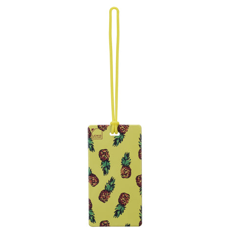 Lewis N Clark Luggage Tag Pineapple