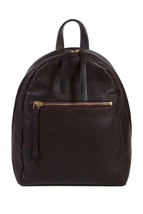 Scully Leather Compact Backpack Chocolate