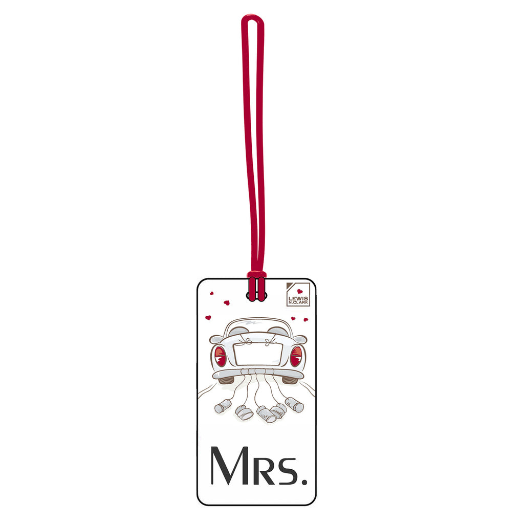 Lewis N Clark Luggage Tag Mrs.