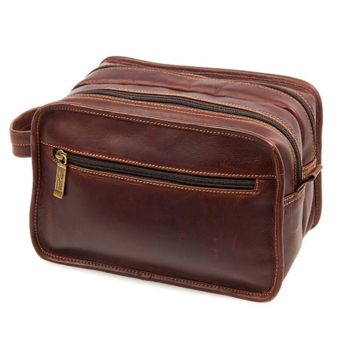 Claire Chase Legendary Luxury Travel Kit Dark Brown