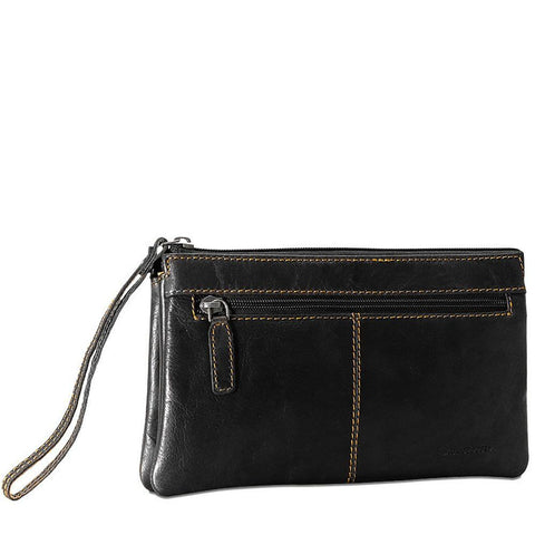 Jack Georges Voyager Zippered Wristlet Clutch