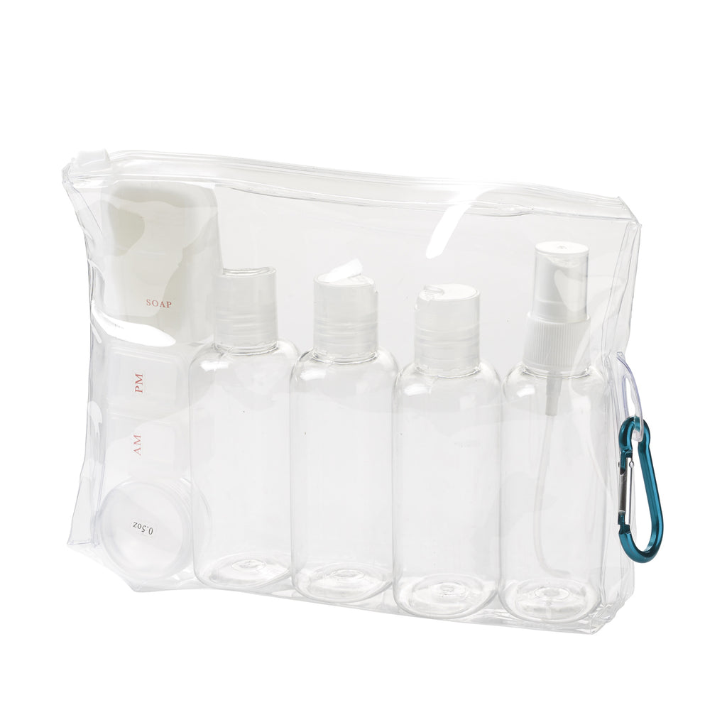 Lewis N Clark 3-1-1 Carry On Toiletry Set