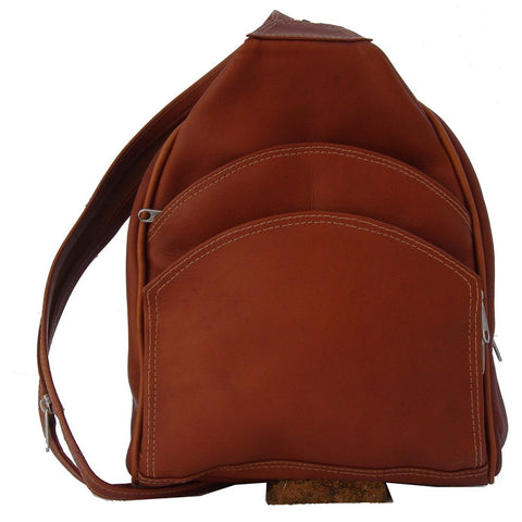 Piel Leather Backpack Sling Bag