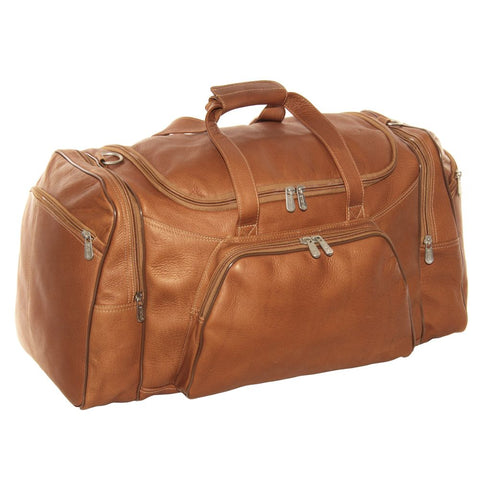 Piel Leather Sports Duffel Bag