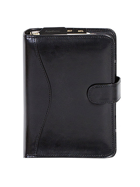 Scully Italian Leather tab weekly organizer