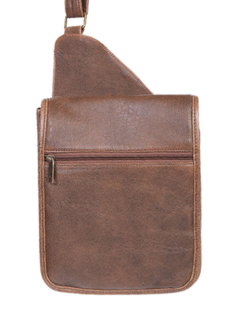 Scully Aerosquadron Collection Leather Travel Bag Walnut