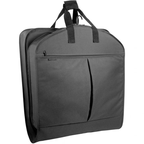 "WallyBags 40"" Suit Length Garment Bag with Pockets"