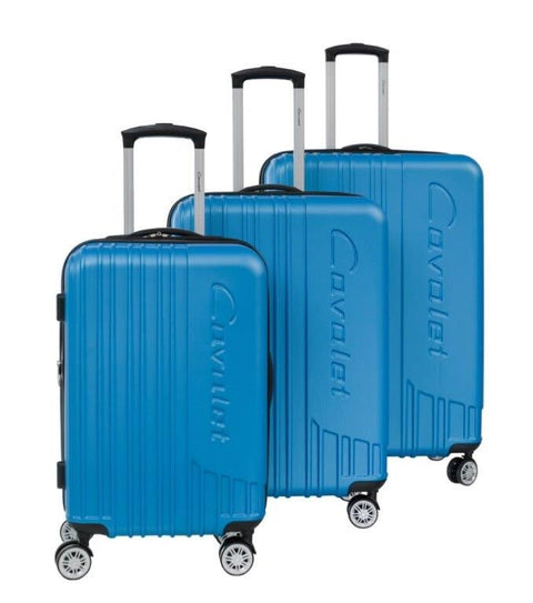 Cavalet Malibu 3 Piece Spinner Luggage Set Assorted Colors
