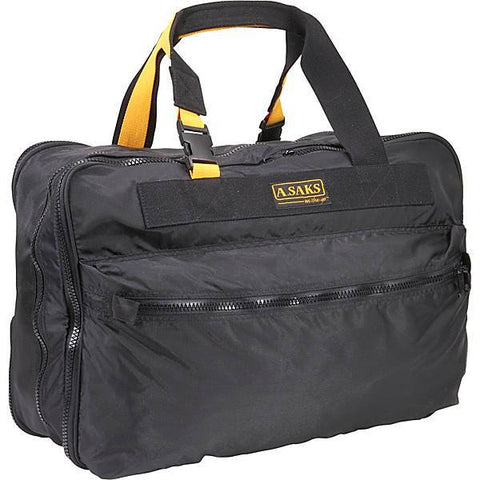 "A.Saks Expandable 21"" Carry On Bag"