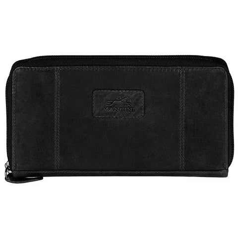 Mancini Casablanca Ladies' RFID Clutch Wallet