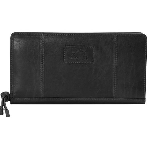 Mancini Casablanca Ladies' RFID Zippered Clutch Wallet