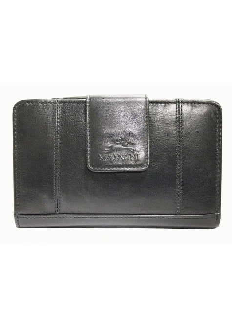 Mancini Casablanca Ladies' RFID Secure Medium Clutch Wallet