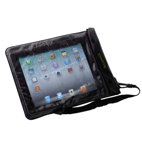 Smooth Trip Waterproof Tablet Dry Bag Clear / Black