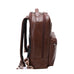 "McKlein USA Parker 15"" Leather Dual Compartment Laptop Backpack Assorted Colors"