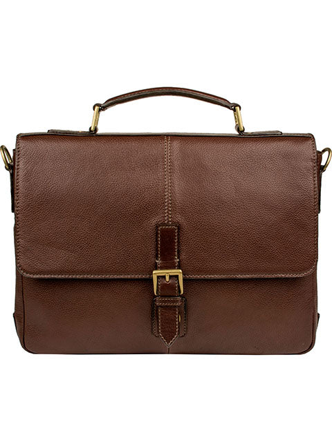 Scully Leather Ranchero Workbag Chocolate
