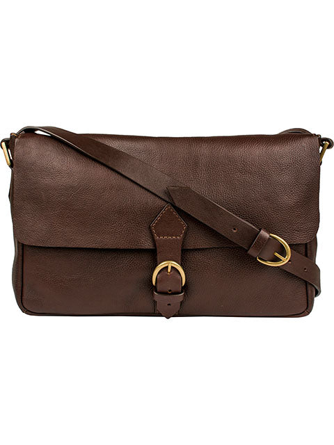 Scully Leather Berkeley Workbag Chocolate