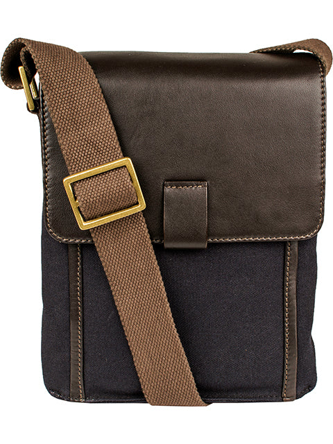 Scully Leather Berkeley Business Shoulder Tote Chocolate