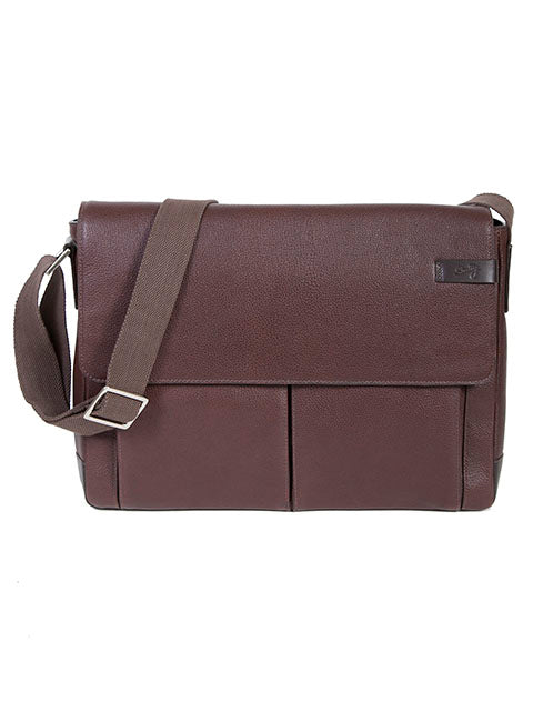 Scully Sierra Collection Leather Workbag Chocolate