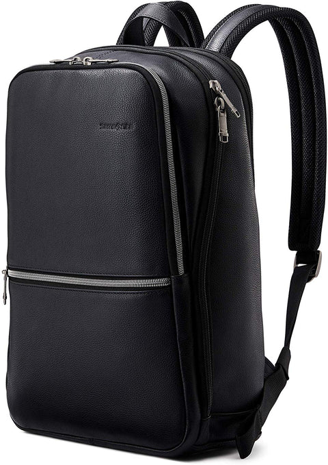 Samsonite Slim Leather Backpack