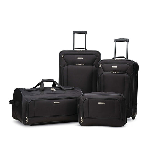 American Tourister Fieldbrook XLT 4 Piece Set Assorted Colors