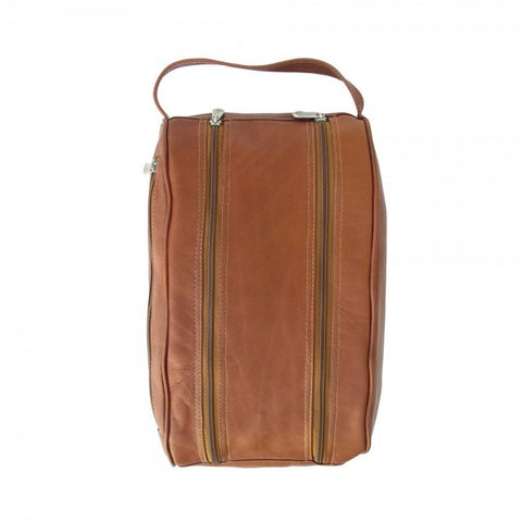 Piel Leather Double Compartment Shoe Bag
