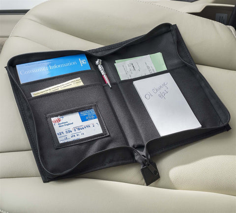 Smooth Trip Auto Document Organizer Black