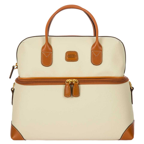 Bric's Firenze Tuscan Train Case Cream