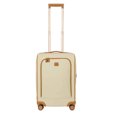 "Bric's Firenze 22"" Split Frame Trolley Cream"