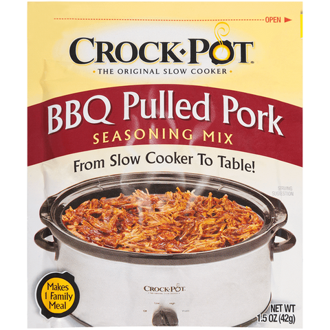 Crock Pot BBQ Pulled Pork Mix