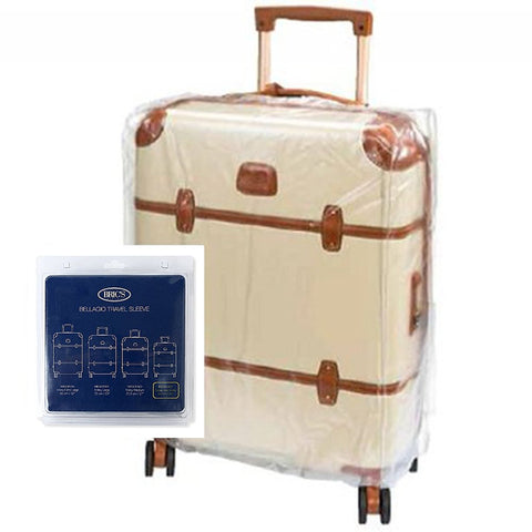 "Bric's Transparent Luggage Cover Small 21"" Clear"