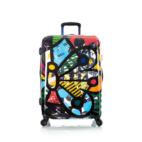 "Heys Britto Butterfly Transparent 26"" Spinner Luggage"