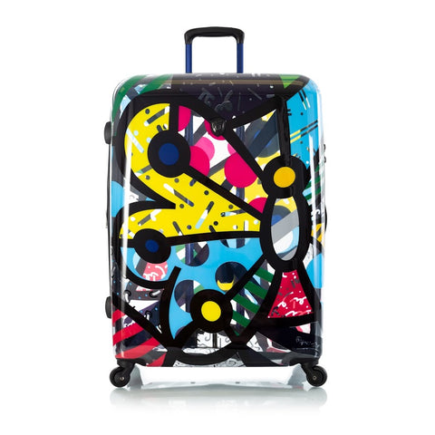 "Heys Britto Butterfly Transparent 30"" Spinner Luggage"