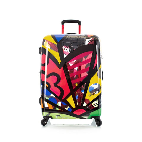 "Heys Britto A New Day 26"" Spinner Luggage Transparent"
