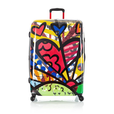 "Heys Britto A New Day 30"" Spinner Luggage Transparent"