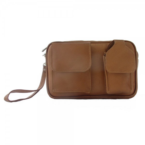 Piel Leather Carry All Bag Assorted Colors