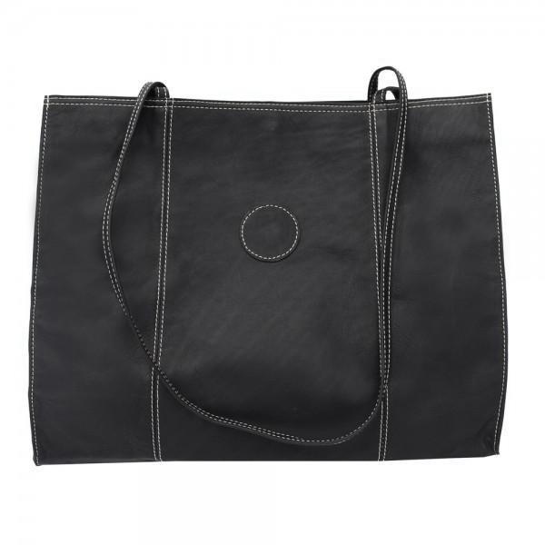 Piel Leather Carry All Market Bag Assorted Colors