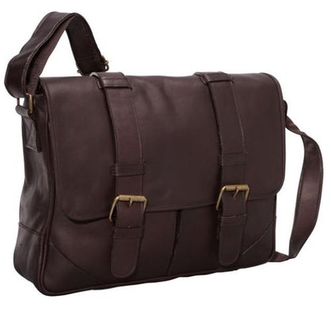 Claire Chase Sorrento Computer Messenger Assorted Colors