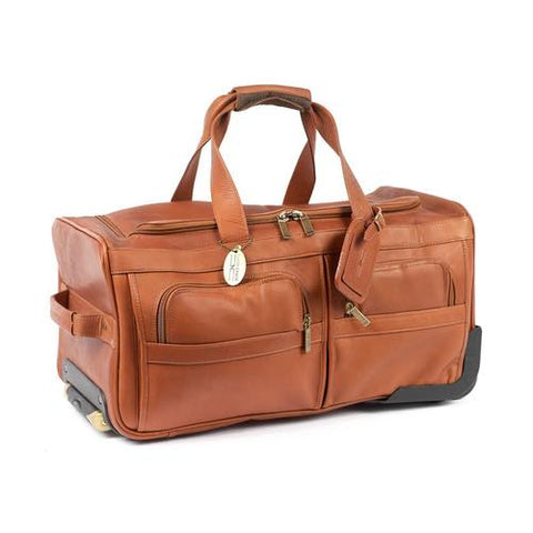 "Claire Chase 22"" Rolling Duffel Assorted Colors"