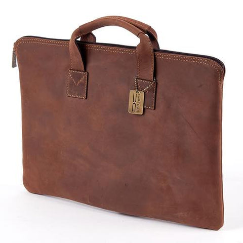 Claire Chase Rustic Folio w/ Handle