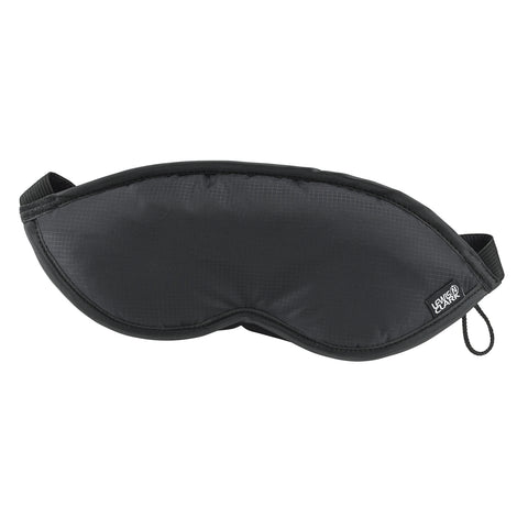 Lewis N Clark Plush Eye Mask Black