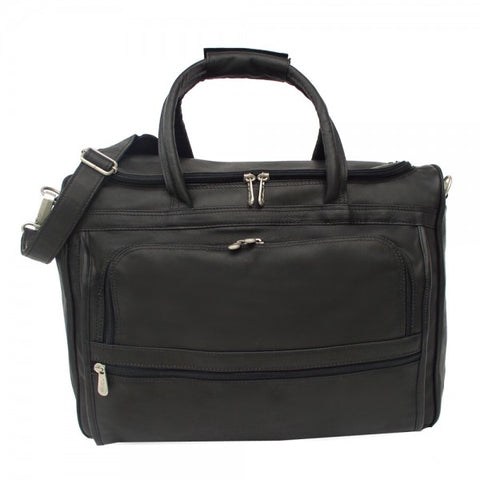 Piel Leather Computer Carry All Bag Assorted Colors