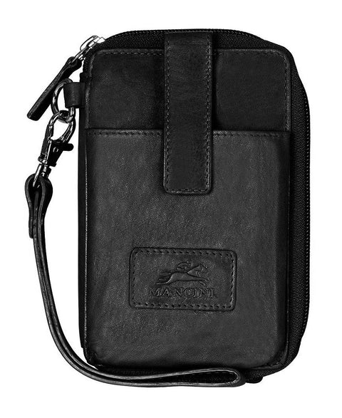 Mancini Casablanca RFID Cell Phone Wallet