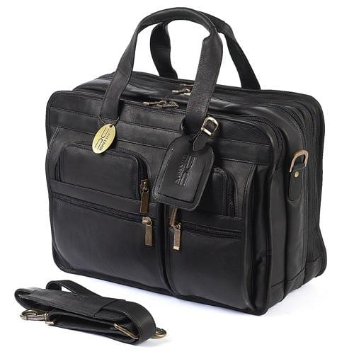 Claire Chase Executive Briefcase Extra Wide Assorted Colors