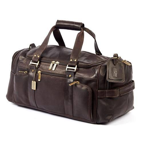 Claire Chase Ultimate Leather Duffel Bag Assorted Colors