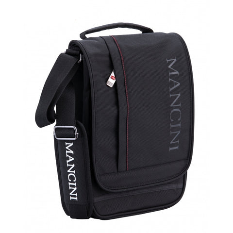 Mancini Biztech Crossover Bag for Tablet and E-Reader Black